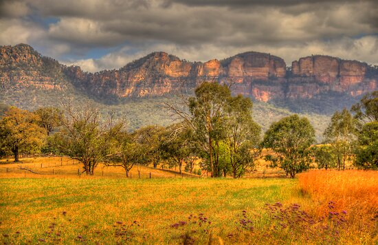 Big Valley - Capertee Valley, Australia - The HDR Experience by Philip Johnson