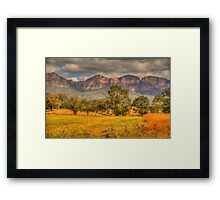 Big Valley - Capertee Valley, Australia - The HDR Experience Framed Print