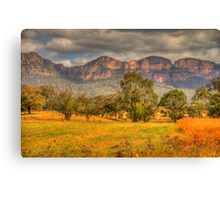 Big Valley - Capertee Valley, Australia - The HDR Experience Canvas Print