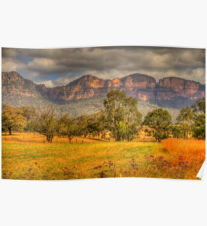 Big Valley - Capertee Valley, Australia - The HDR Experience Poster