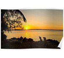 Key Largo Sunrise  Poster