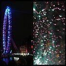 Amazing London - LONDON EYE DIPTYCH - UK by Daniela Cifarelli