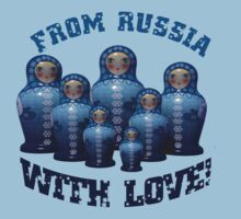 From Russia with love! Matryoshka by VallaV