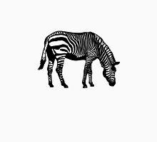 Zebra Womens Fitted T-Shirt