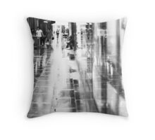Sit a while ... Throw Pillow