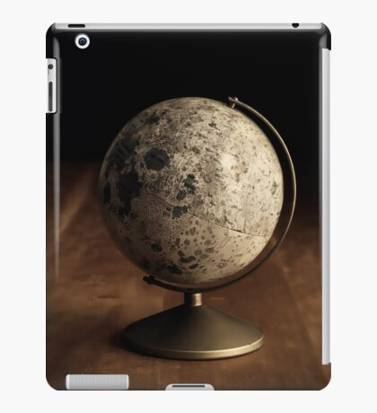 Moon Globe Still Life iPad Case/Skin