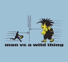 man vs a wild thing by Andrew Tomlins