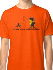man vs a wild thing Classic T-Shirt
