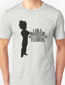 Vegeta - Not a Variety of Flowers T-Shirt
