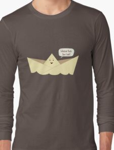 Happy Boat! Long Sleeve T-Shirt