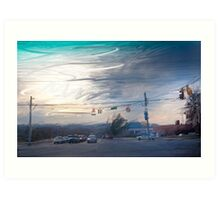 Western Sky  Warren Road Art Print
