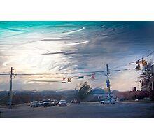 Western Sky  Warren Road Photographic Print