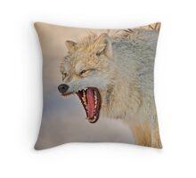 Anger display Throw Pillow