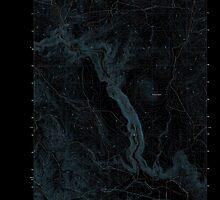 USGS Topo Map Oregon Becker Creek 20110831 TM Inverted by wetdryvac