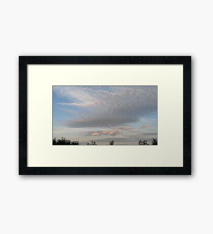 Evening sky - Scotland - 2015 August 22 Framed Print