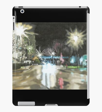 Between Towns Road, Cowley Oxford iPad Case/Skin