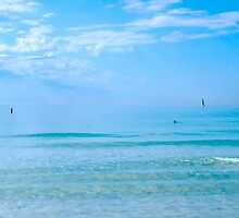 Serenity...in Azure Blue by Frank Bibbins