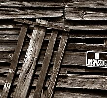 Old Barn Detail by George Butch
