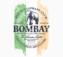 Bombay Elephant Club - India vintage flag Unisex T-Shirt