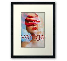 VERTIGE Framed Print