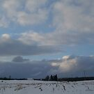 Snow Bank in the Sky by linmarie