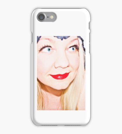 I Ran Before The Tears iPhone Case/Skin
