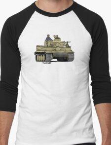 Dogs of War, Tiger 1 Men's Baseball ¾ T-Shirt