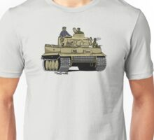 The Dogs of War: Tiger Tank Unisex T-Shirt