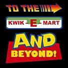 To The Kwik-E-Mart by jayveezed