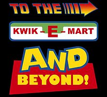 To The Kwik-E-Mart by jayveezed