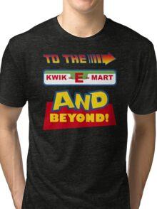 To The Kwik-E-Mart Tri-blend T-Shirt