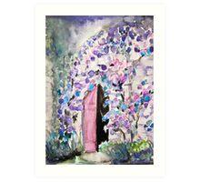 Purple Castle Art Print