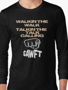 SAWFT.....SAWWWWFFFT Enzo Amore Long Sleeve T-Shirt
