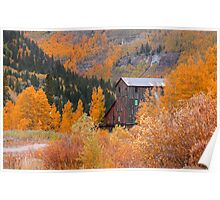 Old mill in Colorado Poster