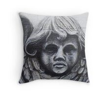 Stone Angel Throw Pillow