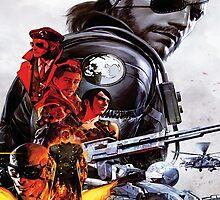 Metal Gear Solid 5 - The Phantom Pain by Kookynetta