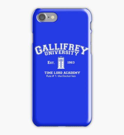 Gallifrey University iPhone Case/Skin