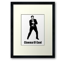 Cinema Of Cool - Tarantino Framed Print