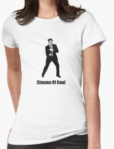 Cinema Of Cool - Tarantino Womens Fitted T-Shirt