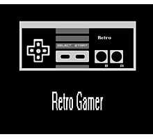 Retro Gamer Photographic Print