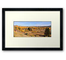 Autumn Panorama Framed Print