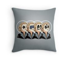 KISS ME GOODNIGHT Throw Pillow