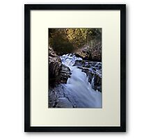 Chauga Narrows Framed Print