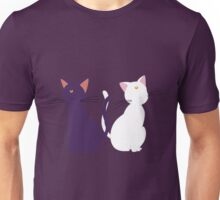 Luna and Artemis (Minimalist) Unisex T-Shirt