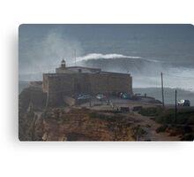 XXL Wave Nazare Portugal Canvas Print