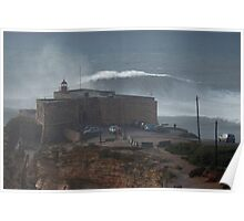 XXL Wave Nazare Portugal Poster