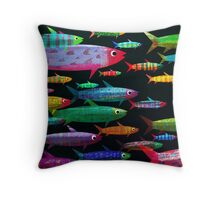 Fishes Throw Pillow