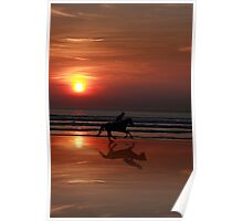 galloping shadow racing Poster