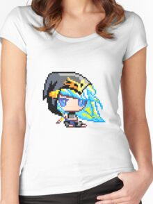 Chibi Ashe Women's Fitted Scoop T-Shirt