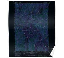 USGS Topo Map Washington Godman Spring 241337 1967 24000 Inverted Poster
